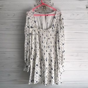 NEW Free People Dress or Tunic Floral Pattern